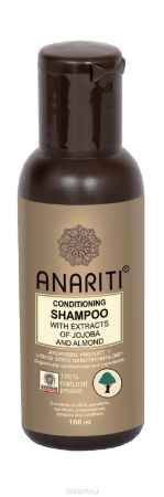 Купить Anariti шампунь кондиционирующий с экстрактами жожоба и миндаля, 100 г