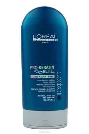 Купить L'Oreal Professionnel Смываемый восстанавливающий и укрепляющий уход для поврежденных волос Expert Pro-Keratin Refill - 150 мл