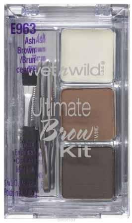 Купить Wet n Wild Набор Для Бровей Ultimate Brow Kit ash brown 3 гр