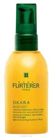 Купить Rene Furterer Okara Блеск-молочко сияющий для мелированных волос без смывания, 100 мл