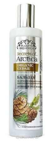 Купить Planeta Organica Secrets of Arctica Бальзам для всех типов волос Активный рост и укрепление с кедром, 280 мл