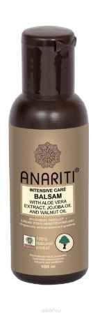 Купить Anariti бальзам-кондиционер интенсивно увлажняющий с экстрактом алоэ вера, маслом жожоба и маслом грецкого ореха,100 г