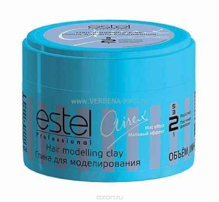 Купить Estel Airex Глина для моделирования с матовым эффектом пластичная фиксация 65 мл