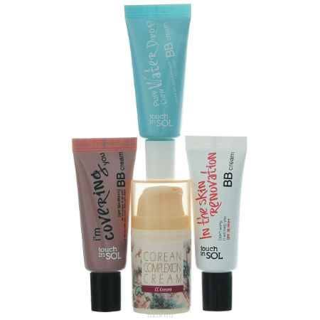 Купить Touch In Sol Набор ВВ/СС кремов Corean Glow Special Kit, 1х15 мл + 3х20 мл
