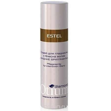 Купить Estel Otium Diamond Crystal fluid - Спрей-блеск для волос 100 мл