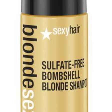 Купить Sexy Hair Шампунь для сохранения цвета без сульфатов Sulfate-free Bombshell Blonde Shampoo, 50 мл