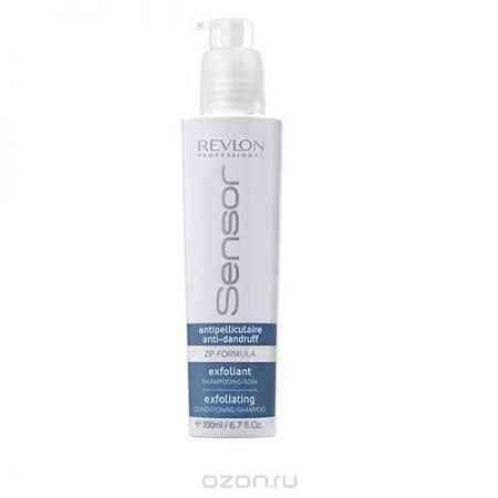 Купить Revlon Sensor Очищающий шампунь-кондиционер против перхоти (Голубой) Exfoliating Conditioning-Shampoo 200 мл