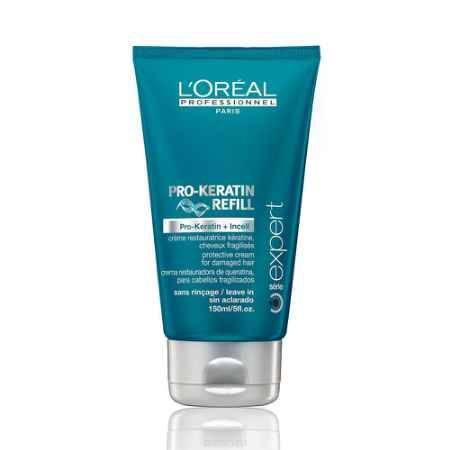 Купить L'Oreal Professionnel Несмываемый защитный крем для поврежденных волос Expert Pro-Keratin Refill Protective Cream - 150 мл