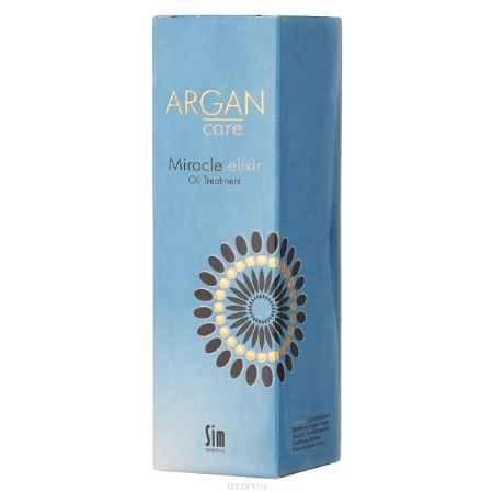 Купить SIM SENSITIVE Эликсир - питающее масло для волос Argan Care Miracle Elixir Oil Treatment Миракл 50 мл