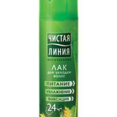 Купить Чистая Линия Лак для укладки волос Объем от корней 200 мл