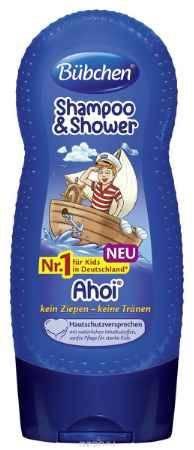 Купить Bubchen Шампунь для мытья волос и тела Йо-хо-хо 230 мл