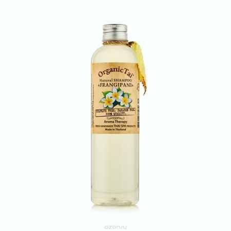 Купить OrganicTai Натуральный шампунь для волос «ФРАНЖИПАНИ»260 мл