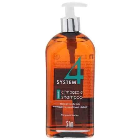 Купить SIM SENSITIVE Терапевтический шампунь № 1 SYSTEM 4 Climbazole Shampoo 1 , 500 мл