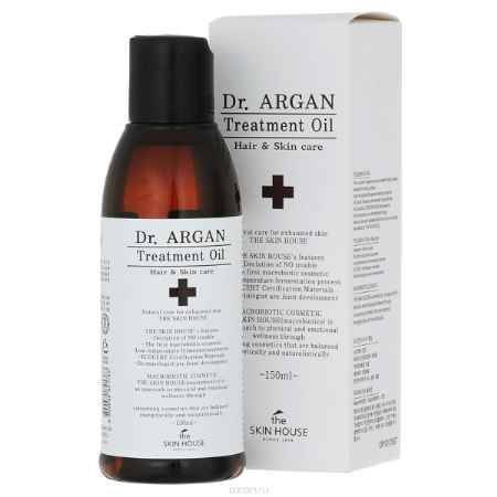 Купить The Skin House Масло арганы для восстановления волос DR. Argan treatment oil, 150 мл