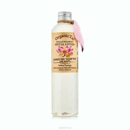 Купить OrganicTai Натуральный шампунь для волос «КОРОЛЕВСКИЙ ЛОТОС» 260 мл