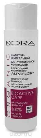 Купить Кора Шампунь нейтральный для чувствительной кожи головы с природным комплексом Alpaflor, 250 мл