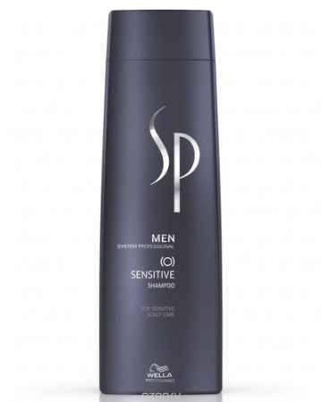 Купить Wella SP Шампунь для чувствительной кожи головы Men Sensitive Shampoo, 250 мл