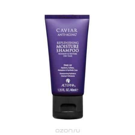Купить Alterna Увлажняющий шампунь c морским шелком Caviar Anti-Aging Replenishing Moisture Shampoo - 40 мл