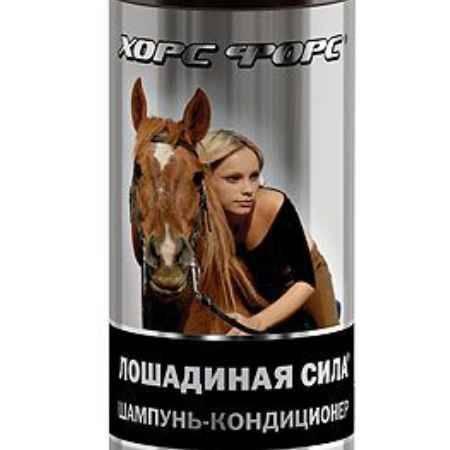 Купить Лошадиная сила Шампунь-кондиционер, с коллагеном и ланолином, 1000 мл