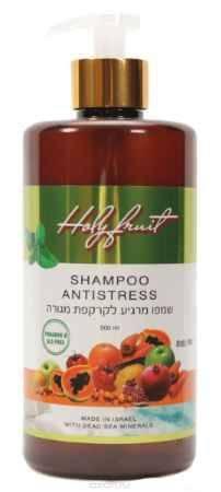 Купить Holy Fruit Шампунь Антистресс (эвкалипт - мята) Shampoo Anti - Stress, 500 мл
