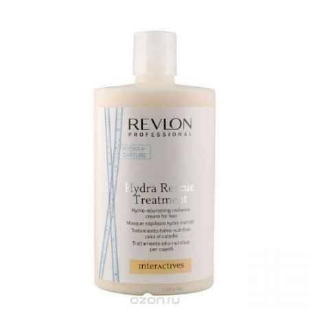 Купить Revlon Professional Interactives Крем для блеска волос увлажняющий и питающий Hydra Rescue Treatment 750 мл