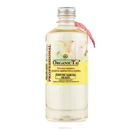 Купить OrganicTai Натуральный шампунь для волос «ЖАСМИН И ЖОЖОБА» 500 мл