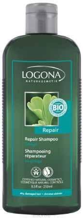Купить LOGONA Восстанавливающий шампунь с Экстрактом Гинкго 250 мл