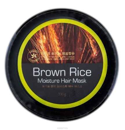 Купить Brown Rice Маска увлажняющая Hyssop Moisture Hair Mask, 330 мл