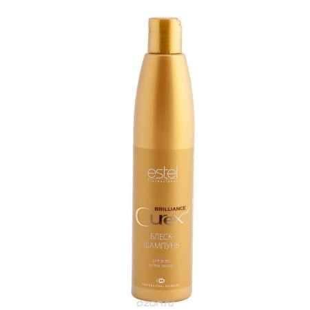 Купить Estel Curex Brilliance Блеск-шампунь для волос 300 мл