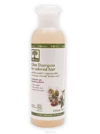 Купить BIOselect Оливковый шампунь для окрашенных волос, 250 мл