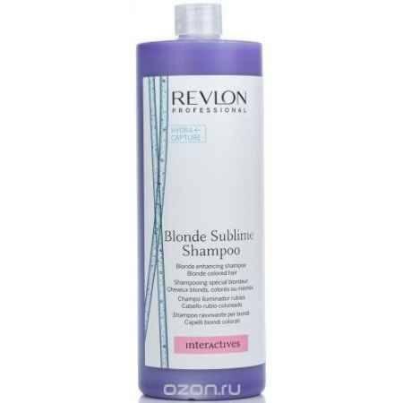 Купить Revlon Professional Шампунь, усиливающий цвет светлых волос Interactives Blonde Sublime 1250 мл