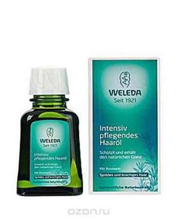 Купить Weleda Масло для волос, для ломких и поврежденных волос, 50 мл