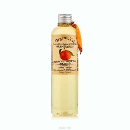 Купить OrganicTai Натуральный укрепляющий шампунь для волос «МАНДАРИН»260 мл