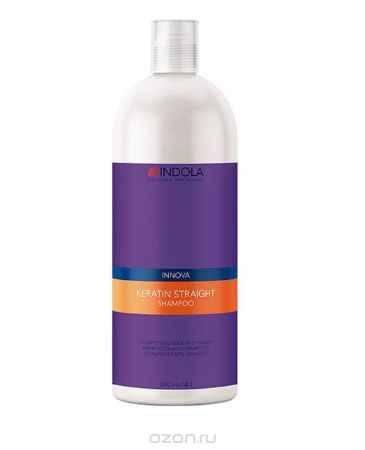 Купить Indola Кератиновое выпрямление шампунь Keratin Straight Shampoo – 1500 мл