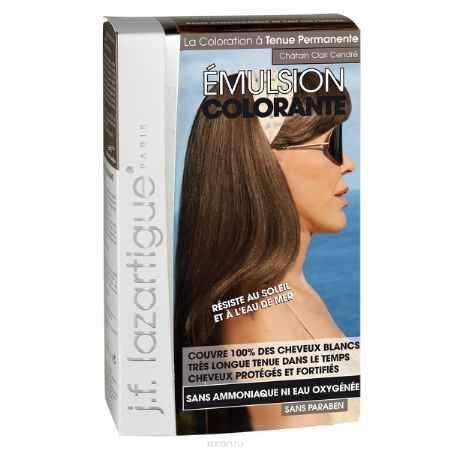 Купить J.F.Lazartigue Оттеночная эмульсия для волос Светло-пепельный каштан 60 мл