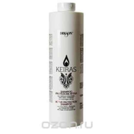 Купить Dikson Шампунь «Активная защита» с маслом Арганы и экстрактом семени льна Keiras Shampoo Protezione Attiva 1000 мл