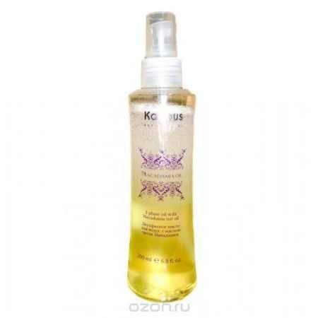 Купить Kapous Двухфазное масло с маслом ореха макадамии Macadamia Oil 200 мл