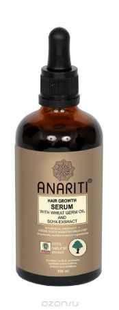 Купить Anariti сыворотка для роста волос с маслом зародышей пшеницы и экстрактом сои,100 г