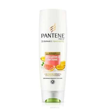 Купить PANTENE Бальзам - ополаскиватель Слияние с природой Очищение и Питание, 400 мл