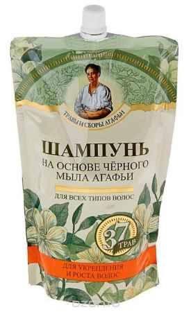Купить Черное мыло Агафьи шампунь на основе черного мыла 500 мл (дойпак)