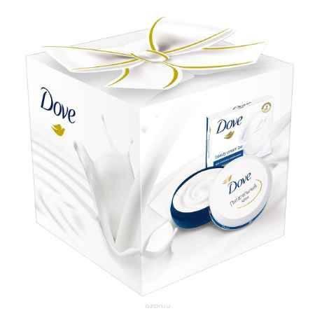 Купить Dove Подарочный набор Красота и Уход: Крем питательный 75мл + Крем-мыло красота и уход 75г