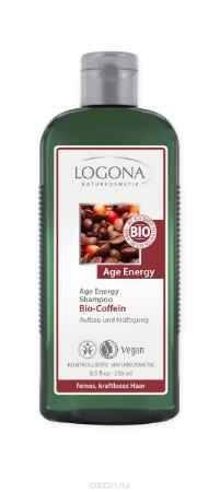 Купить LOGONA Age Energy Шампунь с Био-Кофеином 250 мл