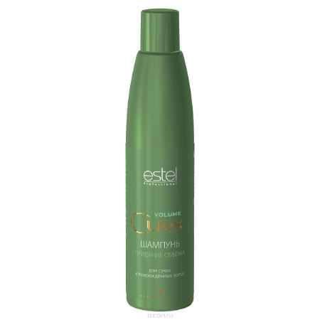 Купить Estel Curex Volume Шампунь для придания объема для сухих и поврежденных волос 300 мл