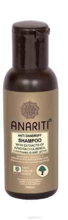Купить Anariti шампунь против перхоти с экстрактами нима, дикого шафрана и сои,100 г