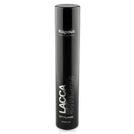 Купить Kapous Professional Лак аэрозольный для волос сильной фиксации 500 мл
