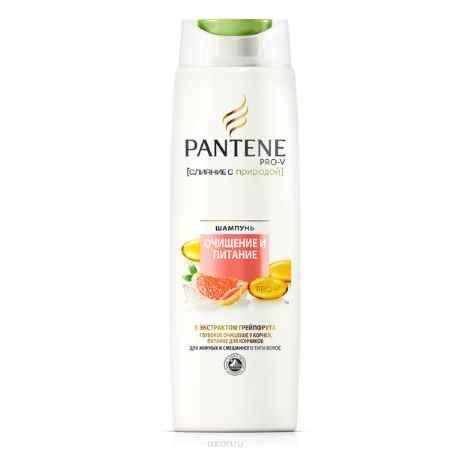 Купить PANTENE Шампунь Слияние с природой Очищение и Питание, 400 мл