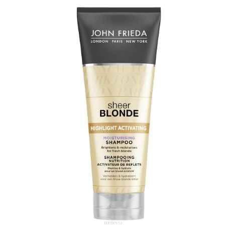 Купить John Frieda Увлажняющий активирующий шампунь для оттенков светлый блондин, 250 мл