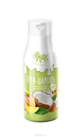 Купить Milk Хорошее настроение Крем-шампунь Тонизирующий микс для окрашенных и тусклых волос, 500 мл