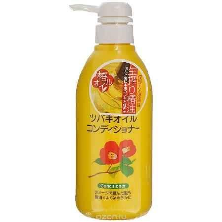Купить Kurobara Кондиционер с маслом камелии японской, для поврежденных волос, 500 мл