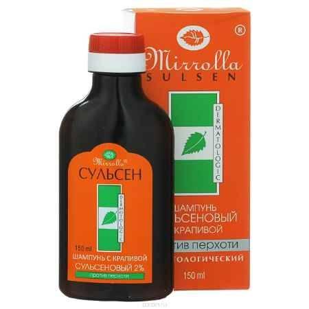 Купить Мирролла Шампунь для волос «Сульсен Форте» с крапивой, против перхоти, 150 мл